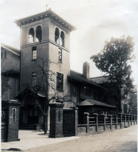 58年昔の会堂